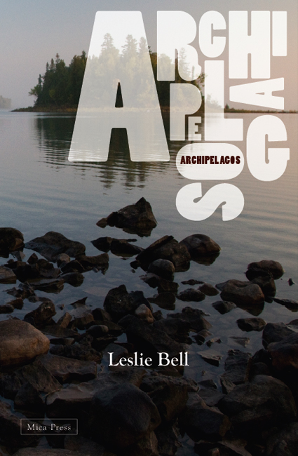 image of cover of Archipelagos showing island and rocky shore