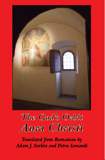 book cover with image of Fra Angelico fresco